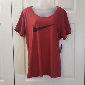 Nike | Pull Over Tee | Red | Size XXL